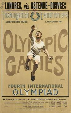 London first hosted the Olympics in 1908, when the Games were in their infancy.