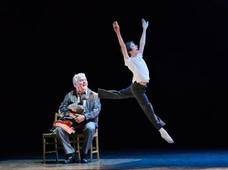 "Rich Hebert (Dad) and Kylend Hetherington (Billy) in ""Billy Elliot the Musical.''"
