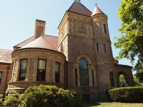 The Millicent Library, one of several buildings paid for by Henry Huttleston Rogers, a Fairhaven native.