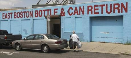 Redemption centers would get an additional penny a bottle from distributors if the expanded bottle bill becomes law.