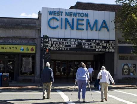 West Newton has a destination venue for filmgoers.