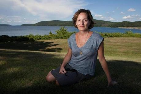 Author Maryanne O'Hara, whose novel