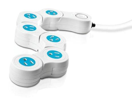 > 8 PIVOT POWER SURGE PROTECTOR by Quirky, $29.99 at Bed Bath & Beyond, 401 Park Drive, Boston, 617-536-1090; 119 Middlesex Avenue, Somerville, 617-629-4423; and other locations, bedbathandbeyond.com