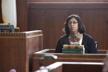 Latrina Fomby Davis testified somberly on the first day of testimony during the trial. She describes her frantic and terrifying moments after learning that her son had been shot and racing behind the ambulance to the hospital.