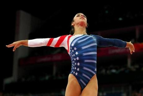 Raisman became the first US woman ever to win the floor exercise.