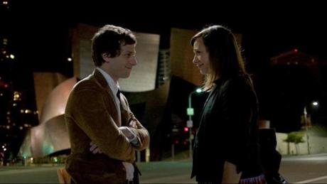 "Samberg and Jones in another scene from ""Celeste and Jesse Forever."""
