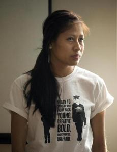 Gladys Martinez is a member of the Student Immigrant Movement.
