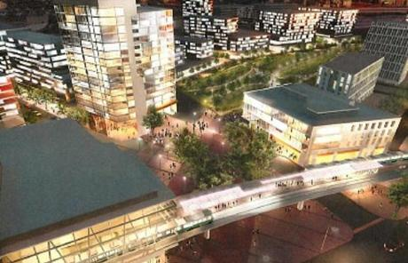 Completing the NorthPoint project, which stalled about five years ago, will probably take another decade, the developers say.