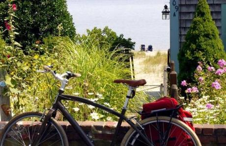Rental bicycles also provide an easy way for ferry passengers to venture afield once they disembark.