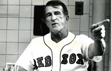 Pesky was named interim manager of the Sox toward the end of the 1980 season.