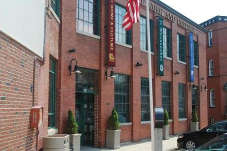 The Museum of Work and Culture in Woonsocket is housed in an old mill near the Blackstone River.