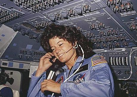 Astronaut Sally Ride.