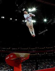 US gymnast McKayla Maroney soars in the women's vault at the London Olympics this month.