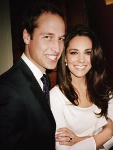 The Mario Testino engagement shot of PrinceWilliam and Kate Middleton