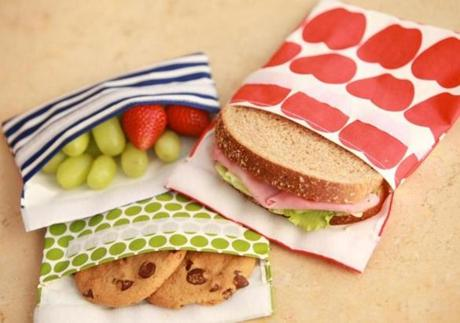 Lunchskins: reusable sandwich and snack bags, starting at $7.85 at <a href=