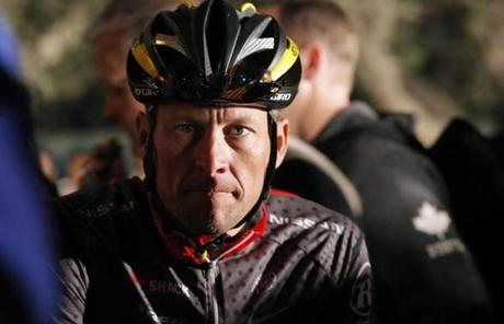 Armstrong on Thursday night dropped any further challenges to USADA's allegations that he took performance-enhancing drugs.