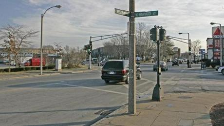 The intersection of Western Avenue and North Harvard Street will soon become the western gate of Harvard.