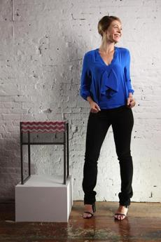 DEBRA FOLZ. Age: 32. Occupation: Furniture designer. Residence: Beacon Hill.