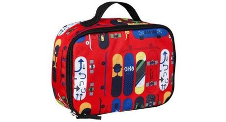 Skateboard print lunch box, $7.94 at Old Navy store locations.