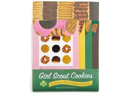 Girl Scout stationery set, $8.99 at www.modcloth.com.