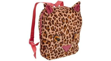 Gap Kids Embellished cat backpack, in leopard, $29.95 at www.gap.com.