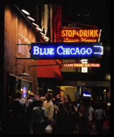 Blue Chicago.