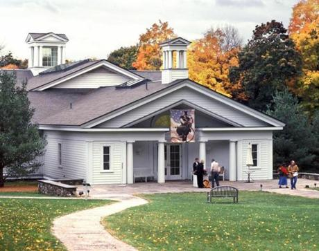 Norman Rockwell Museum (exterior). Photo by Art Evans. ©Norman Rockwell Museum. All rights reserved.