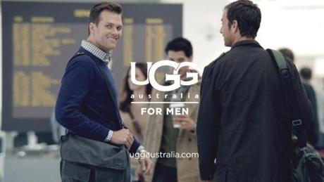 The campaign, a blend of television, digital, print, and outdoor ads, will feature Tom Brady wearing various shoes from the UGG for Men line.