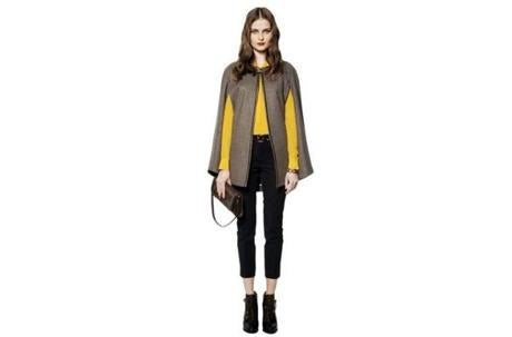 "> ""MELANGE"" CAPE, $198 at Banana Republic, 28 Newbury Street, Boston, 617-267-3933, and other locations, bananarepublic.com"