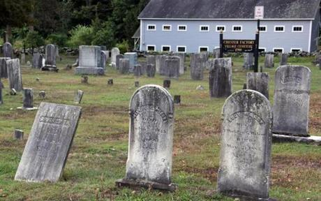 For Travel - 30roadjacobs - A burial ground in Chester Center dates from 1799. (Bill Regan )