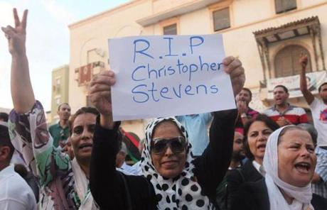 Among the dead was Ambassador Christopher Stevens.