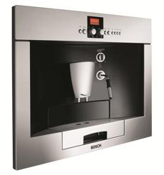 The Bosch Benvenuto coffee machine, built into your cabinets, will help you swear off Starbucks for good.