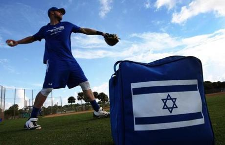 The Israeli baseball team, fueled by a roster mostly filled with Americans, is making a bid to qualify for next year's World Baseball Classic.