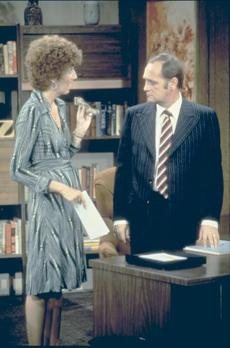Newhart on ''The Carol Burnett Show.""