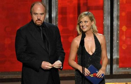 Louis C.K. and Amy Poehler presented an award.