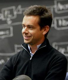 Twitter cofounder Jack Dorsey was in Cambridge Monday to recruit for his new company.