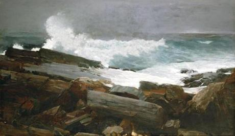 "Winslow Homer's ""Weatherbeaten"" show is at Portland Museum of Art."