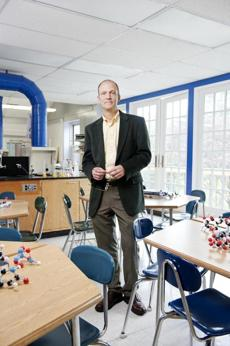 John Drew, academic dean at Concord Academy, which no longer offers AP courses.