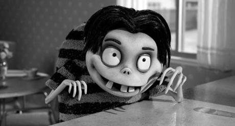 "Edgar Gore (voiced by Atticus Shaffer) in ""Frankenweenie."""