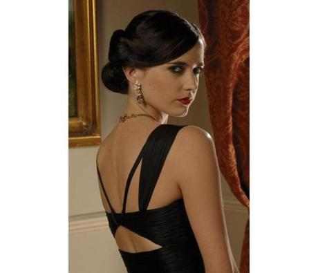 "4. Eva Green as Vesper Lynd in ""Casino Royale"" (2006): Finally, a Bond girl with true designer taste and a million dollar wardrobe. Vesper Lynd has a closet full of Roberto Cavalli evening gowns and tailored suits. Her vampish styling is a throwback to 1940s Hollywood glamour."