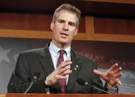 US Senator Scott Brown defended his stance on the so-called Buffett Rule.