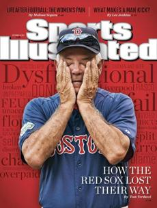 In early September, Sports Illustrated shined a light on the Red Sox' problems with a front-page photo of Valentine.
