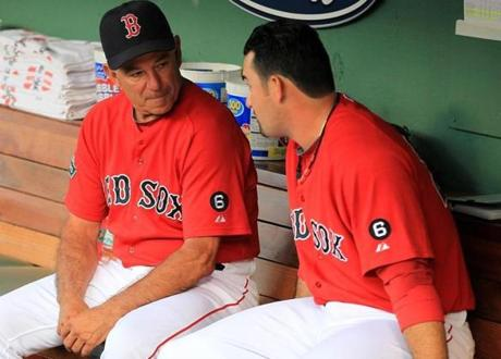 Valentine chatted with Gonzalez in the Fenway Park dugout on Aug. 24, a day before the Red Sox finalized a trade sending him, Josh Beckett, Carl Crawford and Nick Punto to the Dodgers.