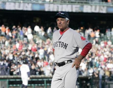 By the end of the opening weekend, Valentine was looking for answers after the Red Sox had been swept in three games.