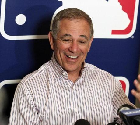 Valentine shared some laughs with reporters when he met with them at the winter meetings in Dallas on Dec. 7.
