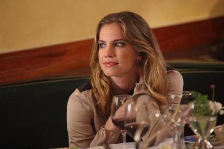 "LAW & ORDER: SPECIAL VICTIMS UNIT -- ""Twenty-Five Acts"" Episode 1402 -- Pictured: Anna Chlumsky as Jocelyn Paley -- (Photo by: Eric Liebowitz/NBC)"