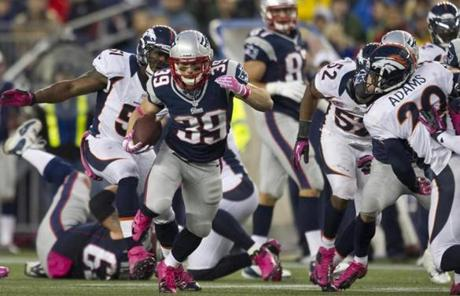 Danny Woodhead broke out on this run in the second half.