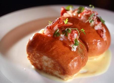 Mini lobster rolls.