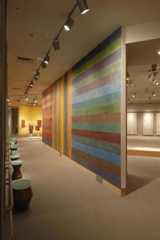 Wall drawing #655 at the Hood Museum of Art at Dartmouth College