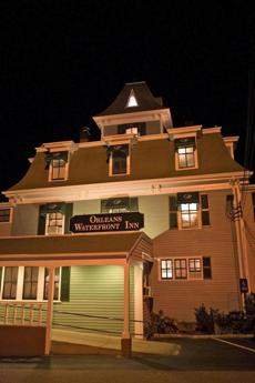 Lore claims the Orleans Waterfront Inn's resident undead are two men who suffered unhappy demises and a woman who still communicates with guests with a flashlight.